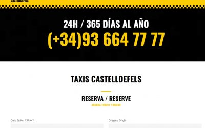 Taxis Castelldefels