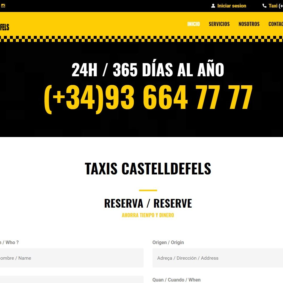 taxiscastelldefels
